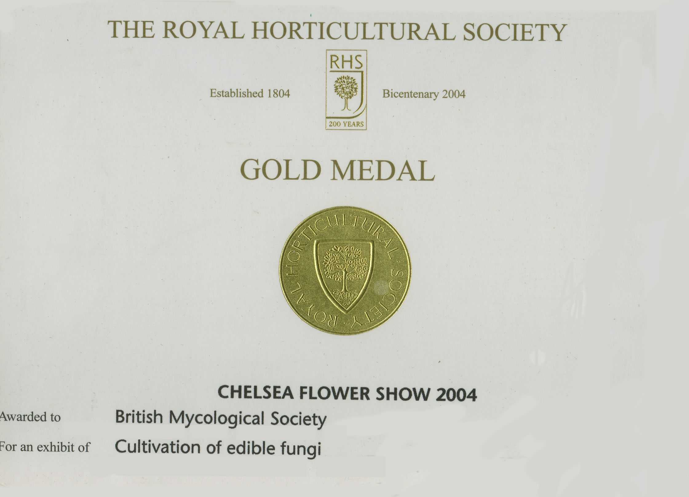 Untitled document - Chelsea flower show gold medals ...